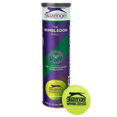 Slazenger Wimbledon Tennis Balls - 4 Ball Can