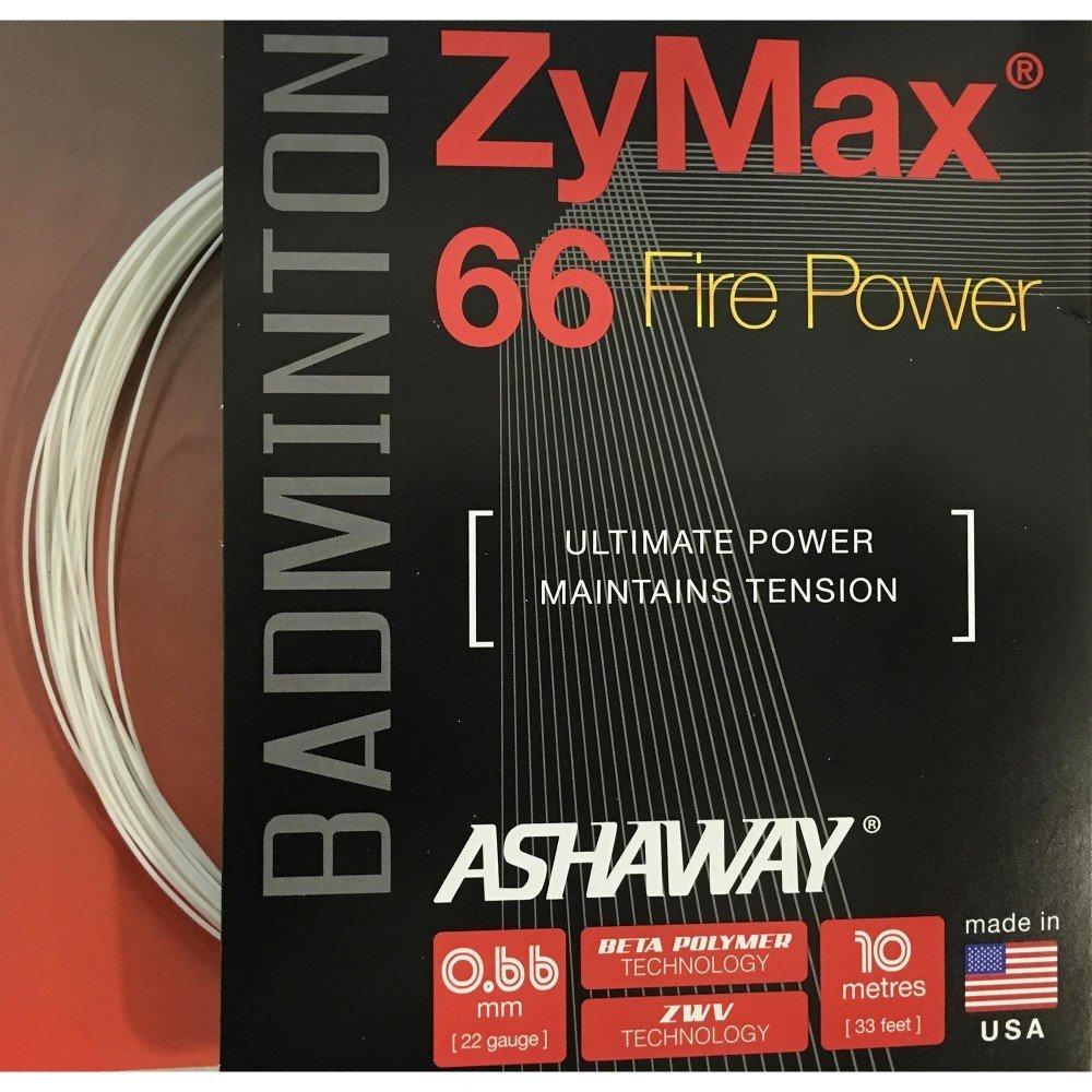 Ashaway Zymax 66 Fire Power Badminton String Set