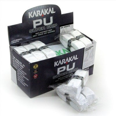 Karakal PU Grips Box 24 - White