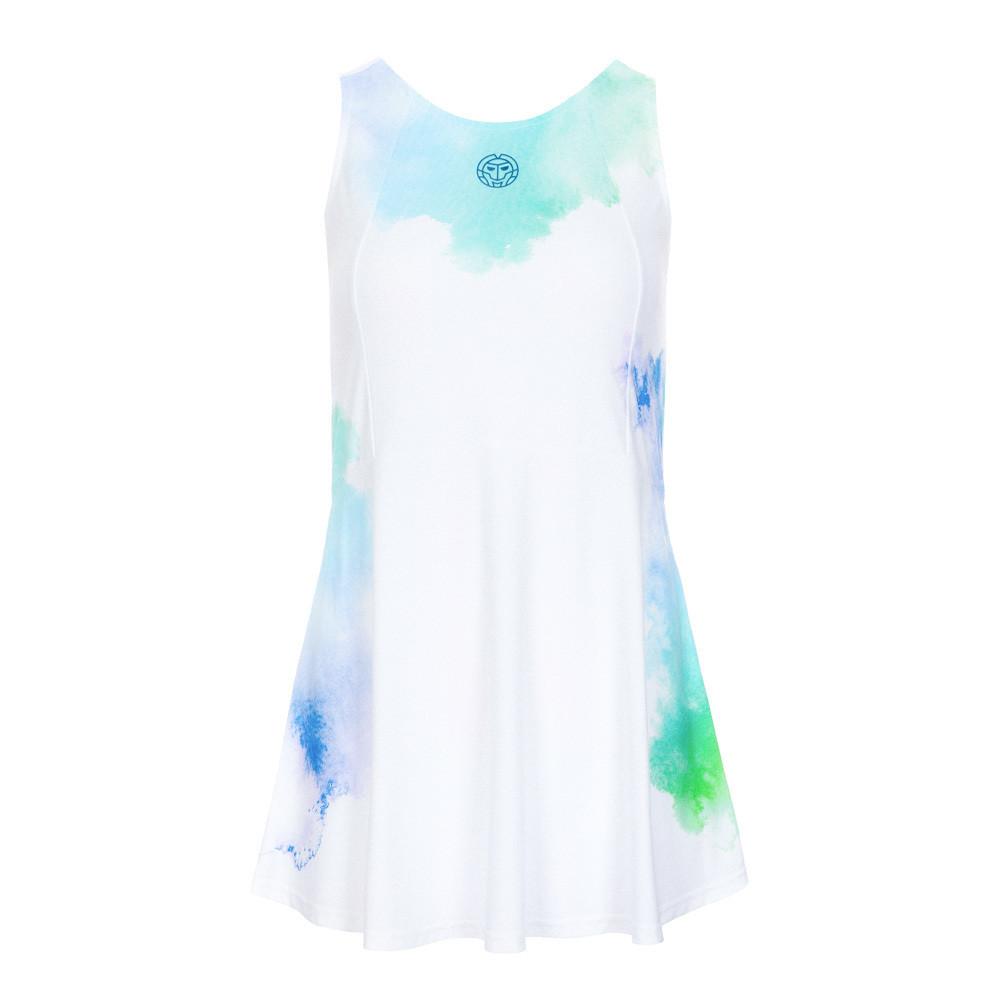 Maisie Tech Dress (3 in 1) - White/Blue/Green