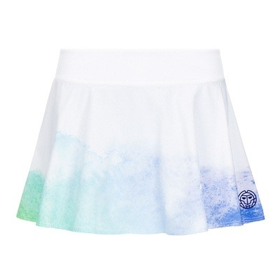 Mora Tech Skort - White/Blue/Green
