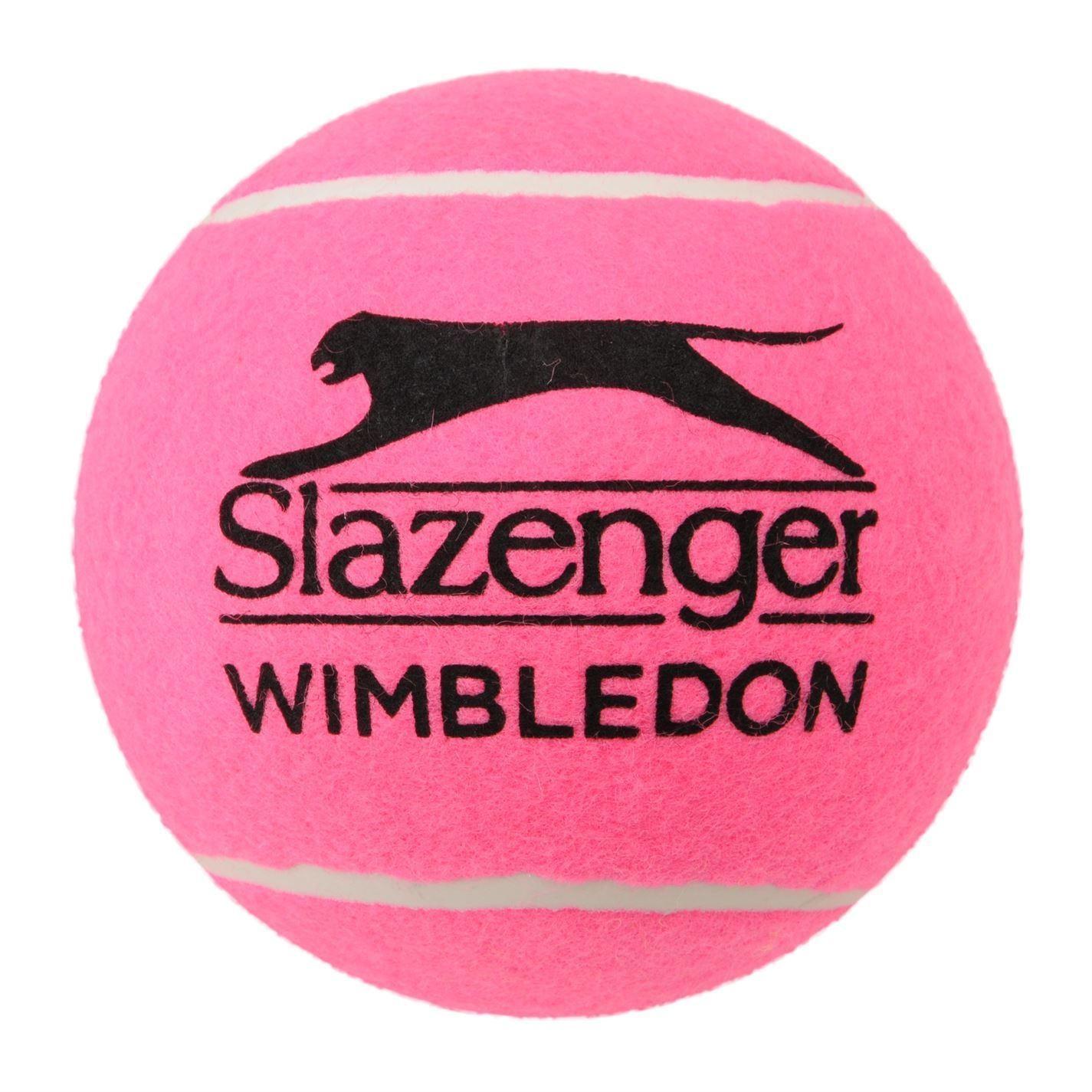 Wimbledon Slazenger Midi Ball - Pink