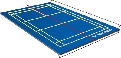 Victor Badminton Court Performance Mobile Mat
