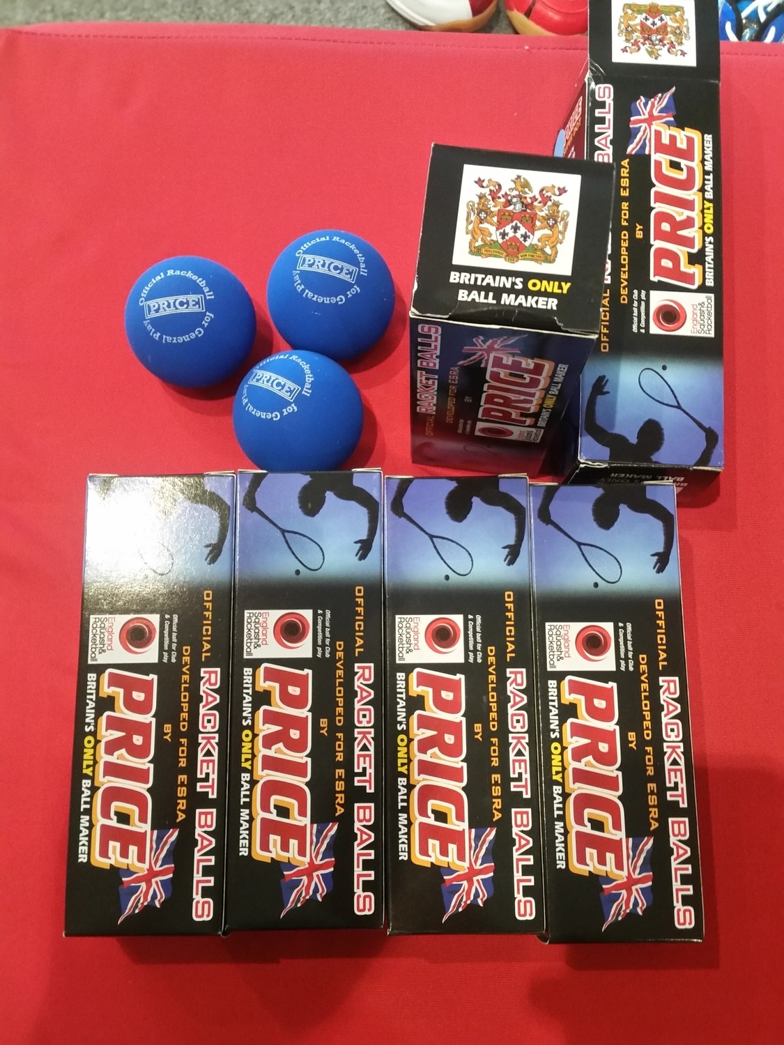 Price Racket Balls (3 Pack)