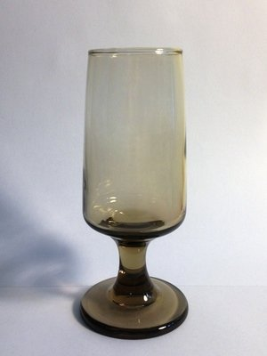 Cocktail, Brown Glass Mid-Century Modern 8 oz