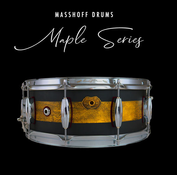 Masshoff Drums Maple Series / Poinciana Duco