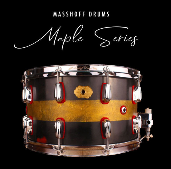Masshoff Drums Maple Series / Big Chief Duco 