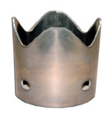 Dura Tube™ Aluminum Weld-On Serrated Suction Nozzle Crown