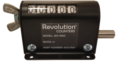 Revolution™ SD7 Series Footage Counters