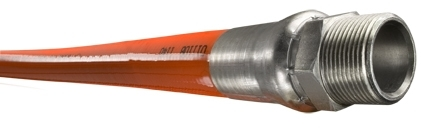 "Piranha® Mainline Theromoplastic Sewer Cleaning Hose - [Orange - 1"" x 1000' - 2500 PSI]"