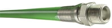 Piranha® High Temp Jetting/Lateral Hose - [Green - 3/8