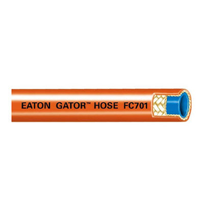"""Eaton® Mainline Thermoplastic Sewer Cleaning Hose - [Orange - 3/4"""" x 400' - 2500 PSI]"""