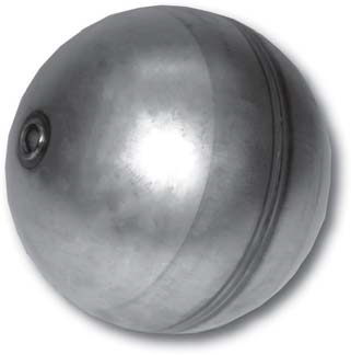 """6"""" Vactor® / Vac-Con® Type Stainless Steel Float Ball"""