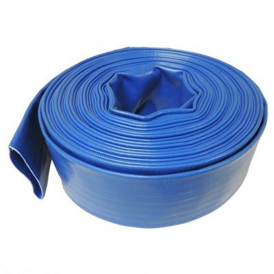 Blue Nylon Discharge Hose