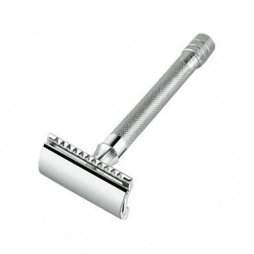 Merkur 23C Straight Cut X-Long Handle DE Razor - Chrome