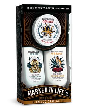 Marked IV Life 3 piece Tattoo Care Kit