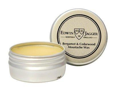 Edwin Jagger Bergamot & Cedarwood Extra Hold Moustache Wax - 15ml