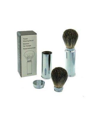Pure Badger Hair Travel Shaving Brush