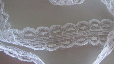 White Bilateral Lace