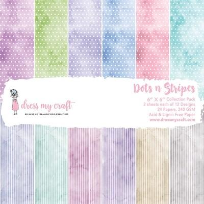 Dots n Stripes Paper Pad