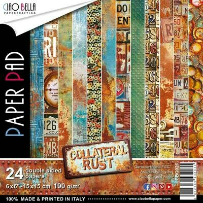 CIAO BELLA Collateral Rust 6x6 Paper Pad