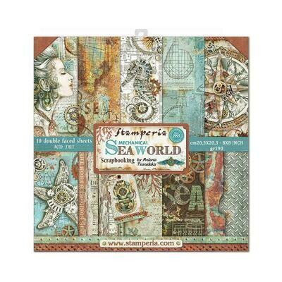 MECHANICAL SEAWORLD 8x8 PAD