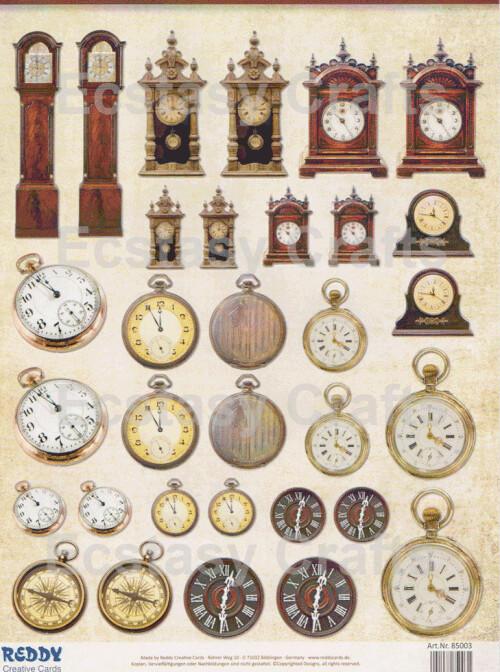 Pre-cut Vintage Decorations - Click to Select