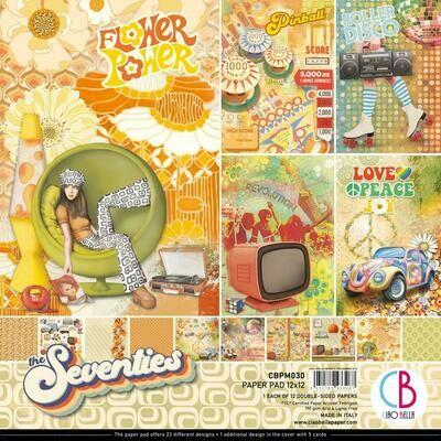 CIAO BELLA The Seventies 12x12 Paper Pad