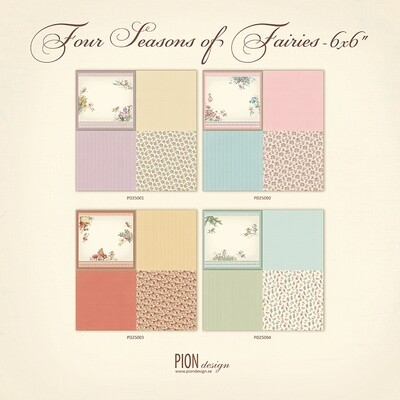 PION DESIGN Four Seasons Of Fairies - Click to Select