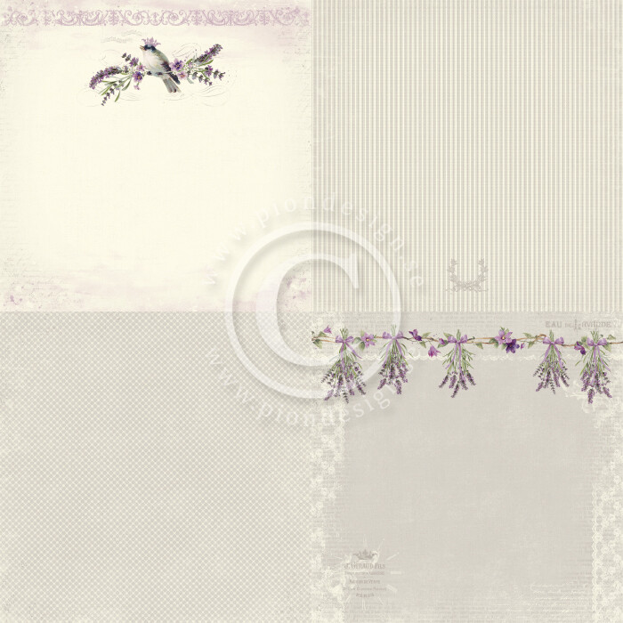 PION DESIGN Scent of Lavender 6x6 - Click to Select