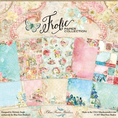 BLUE FERN STUDIOS Frolic 12x12  - Click to Select