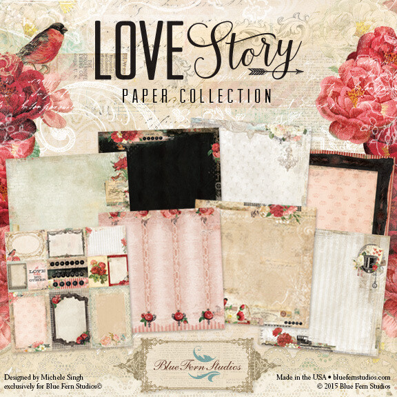 BLUE FERN STUDIOS Love Story - Click to Select