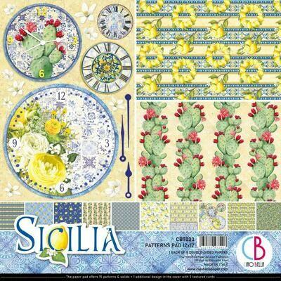 CIAO BELLA Sicilia 12x12 Patterns Pad (8 pack)