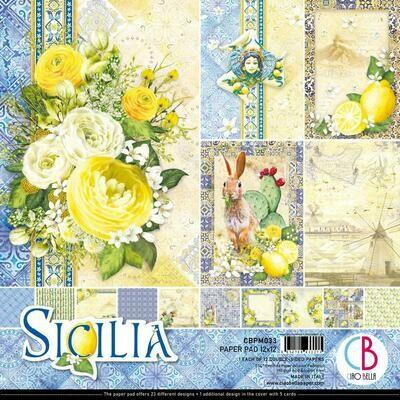 CIAO BELLA Sicilia 12x12  Paper Pad