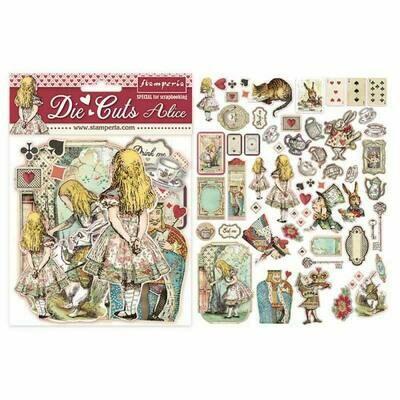 Stamperia - Alice Ephemera