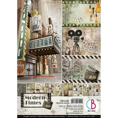 CIAO BELLA Modern Times A4 Paper Pack