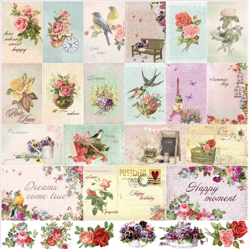 Scrapberry's Tags & Cut-out Cards - Click to Select
