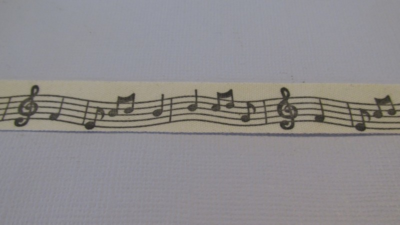 Music Notes - Cotton Tape