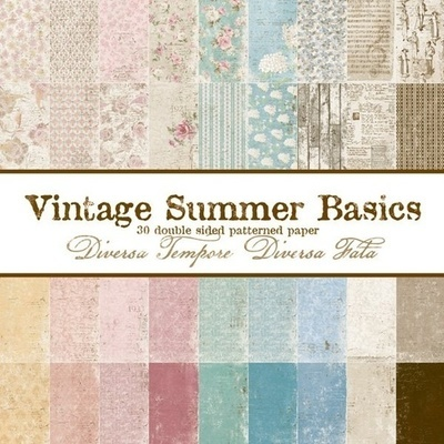 Vintage Summer Basics 6x6 Paper Pad