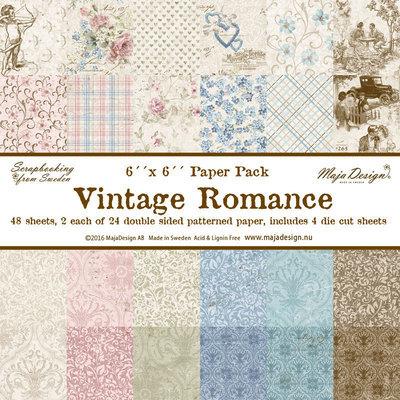 Vintage Romance 6x6 Paper Stack