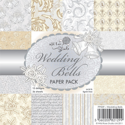 Wedding Bells 6 x 6 Paper Pack