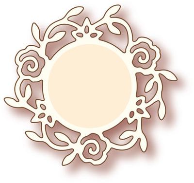Rose Circle die