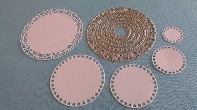 Nested Circles die set