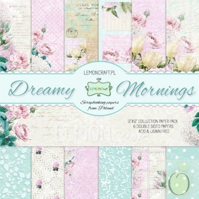 Dreamy Mornings 12x12 Paper Collection