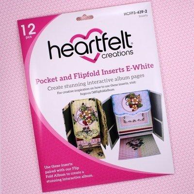 Pocket & Flipfold Inserts E - White