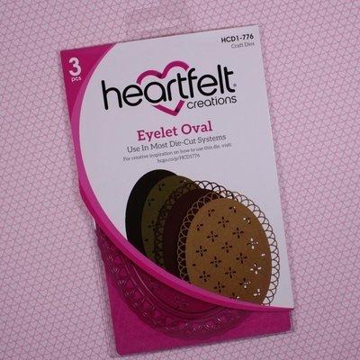 Eyelet Oval die set
