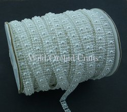 Flat Back Pearl Trim - Click to Select