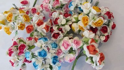 Two Tone Open Roses - Click to Select