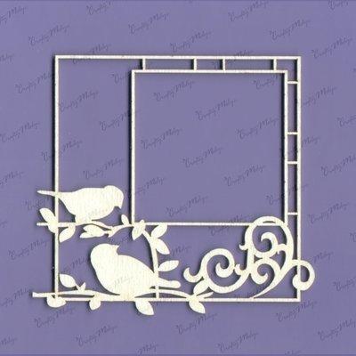 Frame with 2 Birds