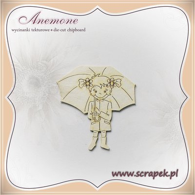 Girl with Umbrella 2